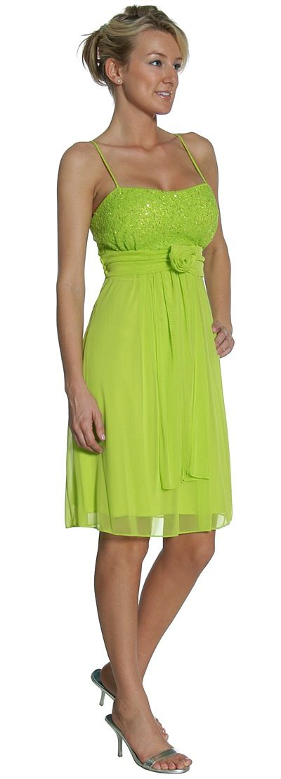 Lime Green Bridesmaid Dress Images
