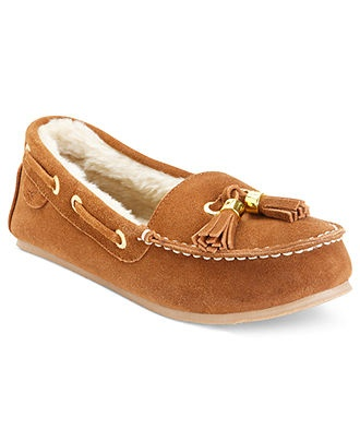 Sperry Top-Sider Women's Shoes, Ruby Faux-Fur Boat Shoe Slippers - Sperry Top-Sider - Shoes - Macy's