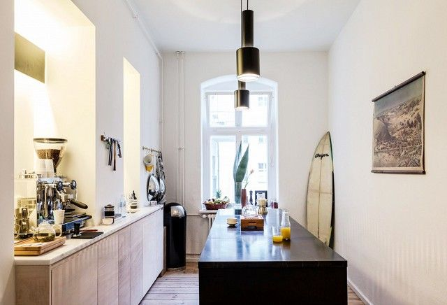 Tour a Stylish German Apartment (You Can Rent!) via @domainehome