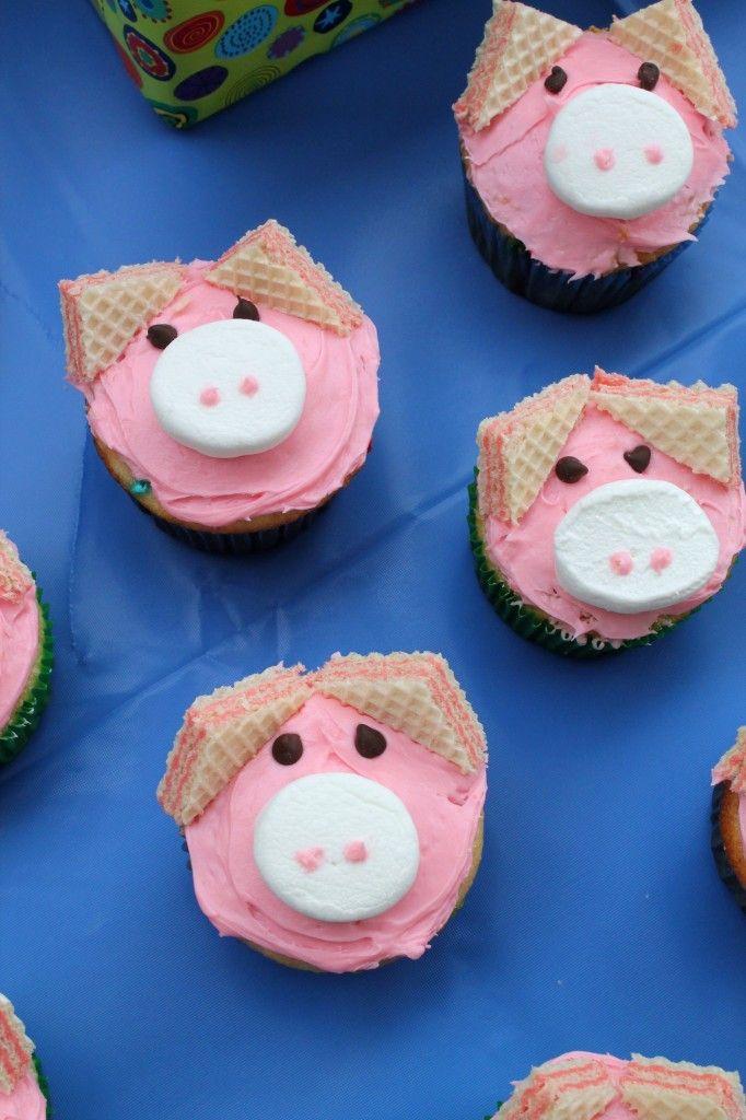 Divertida idea para aperitivo de una celebración de cumpleaños de Peppa Pig. #Peppapig #party