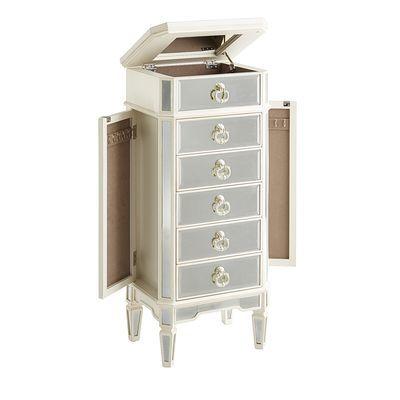 Merriweather Jewelry Armoire Antique White Wish List
