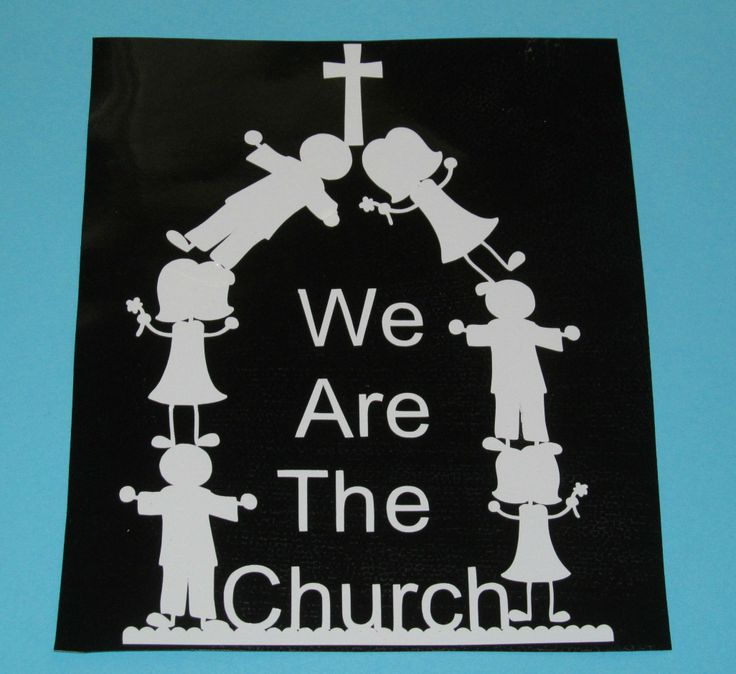 We are the Church window decal https://www.facebook.com ...