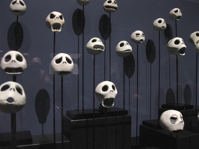 Tim Burton exhibit at LACMA