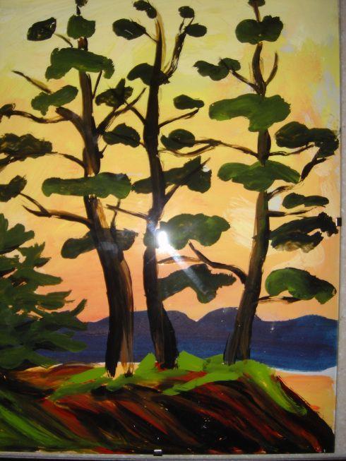 tom thomson pine trees - Google Search