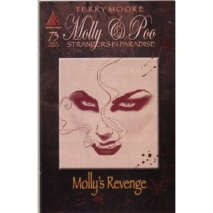 Terry Moore. Molly & Poo:  Dust Jackets,  Dust Covers,  Dust Wrappers