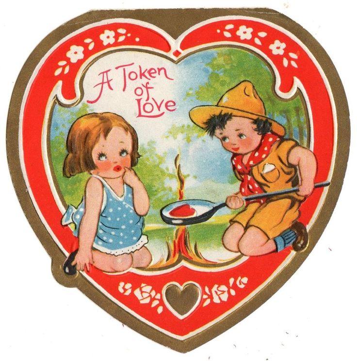 98 best Vintage Valentines Day Cards images on Pinterest