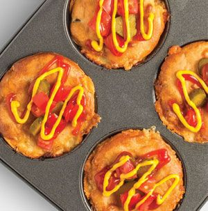 Impossibly Easy Mini Cheeseburger Pies.  Hy-Vee.com offers over 7,000 recipes and weekly menu planning.