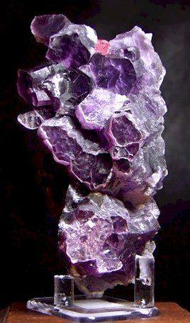 Gem Lepidolite with Elbaite from Madagascar by Kevin Ward