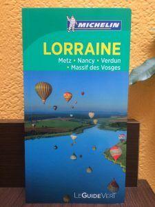 Guide Vert Michelin Lorraine Metz Nancy Verdun Massif des Vosges