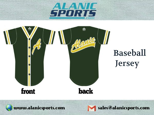 Baseball jerseys are very popular among players and fans. Alanic Sports provides the highest quality baseball jerseys at affordable rates.