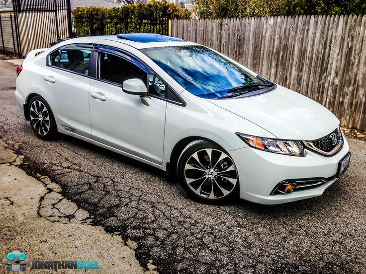 White honda civic si with black rims google search for Honda civic si white
