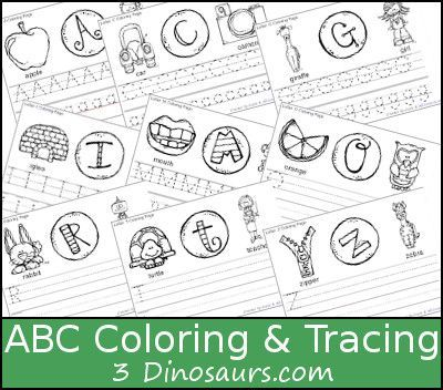 new free abc coloring tracing printable this is a coloring page with letter tracing