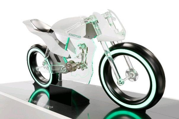 Made out of Glass! Energy-efficient and f*cken gorgeous! by Schaeffler