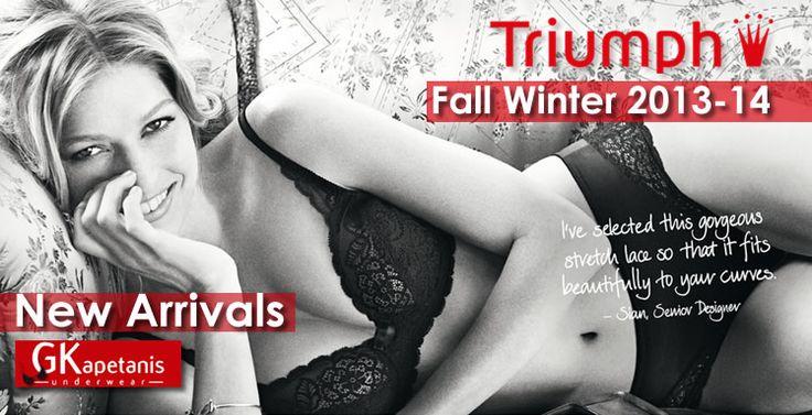 Σουτιέν Triumph - Νέες Συλλογές Χειμώνας 2014