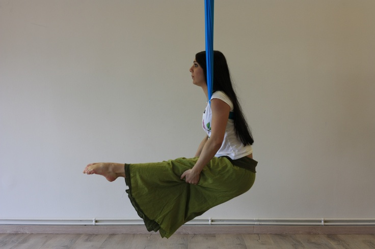 Aerial Flow@ Anahata Yoga Studio GR