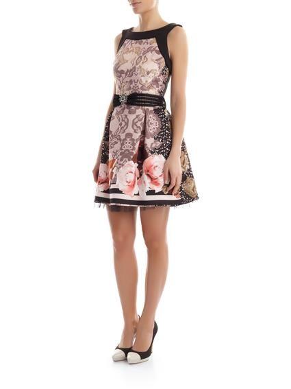 L'inno alla femminilità di Rinascimento abbigliamento primavera estate 2015 Rinascimento abito pizzo e rose 119.00 euro