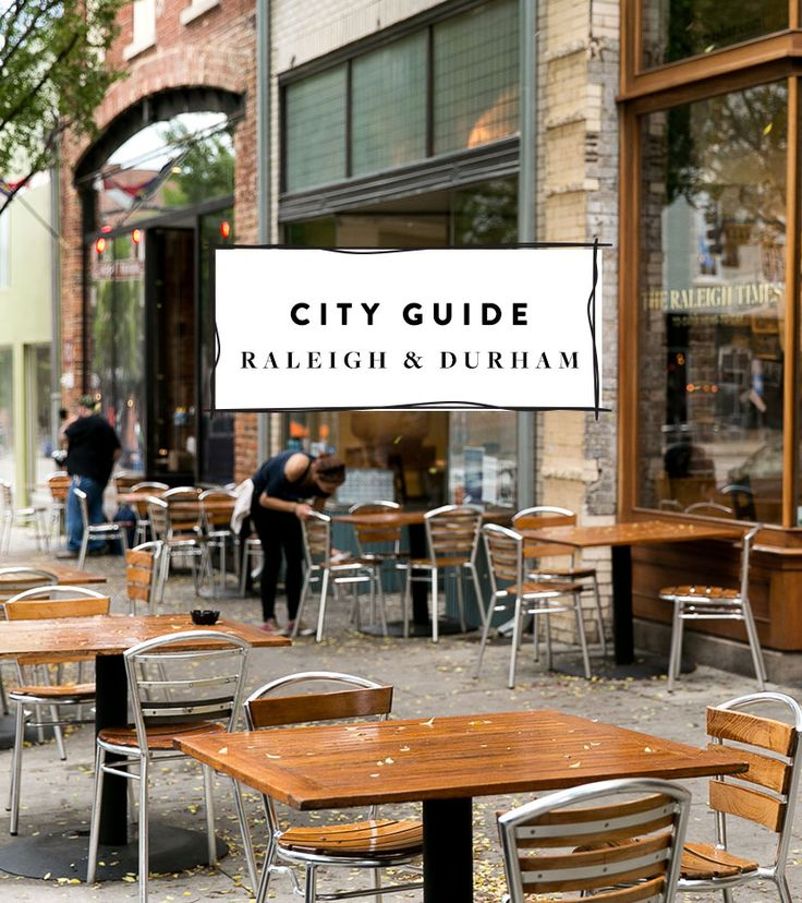A City Guide for the Raleigh and Durham area of North Carolina. /