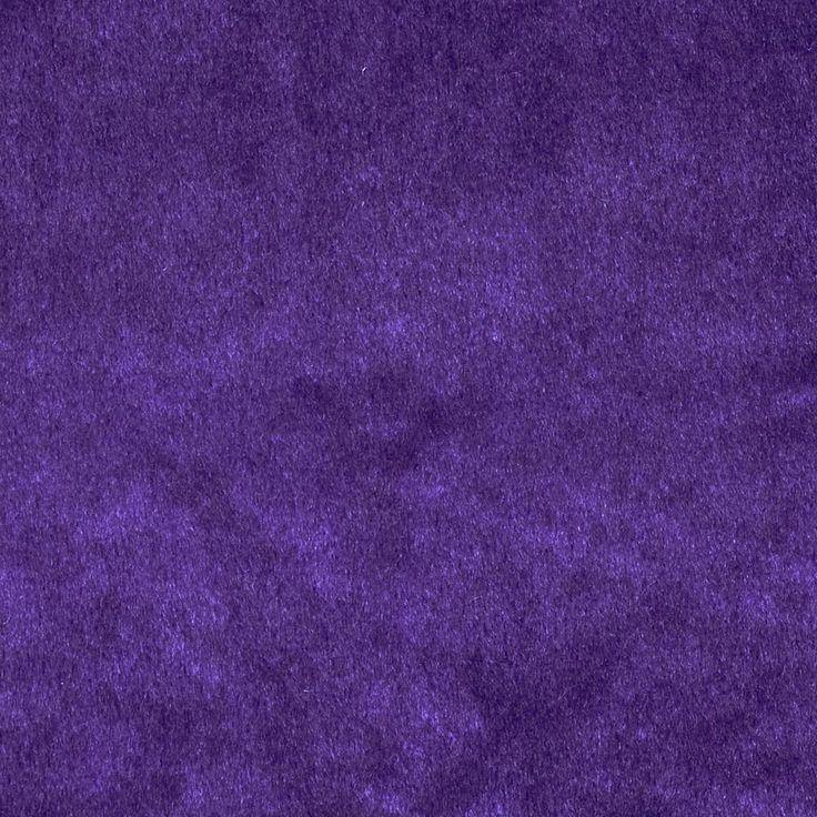 Purple velvet upholstery
