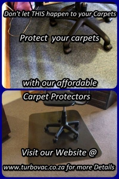 Chair Mats / Carpet Protector.       PROTECT your valuable CARPETS against STRETCHING  PILE DAMAGE, caused by the CASTOR WHEELS of chairs, with the affordable CHAIRMAT / CARPET PROTECTOR.