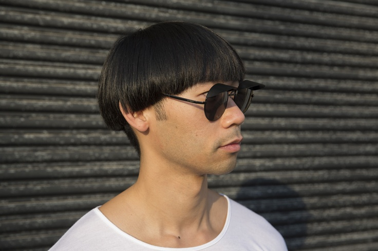 Chin - sunglasses