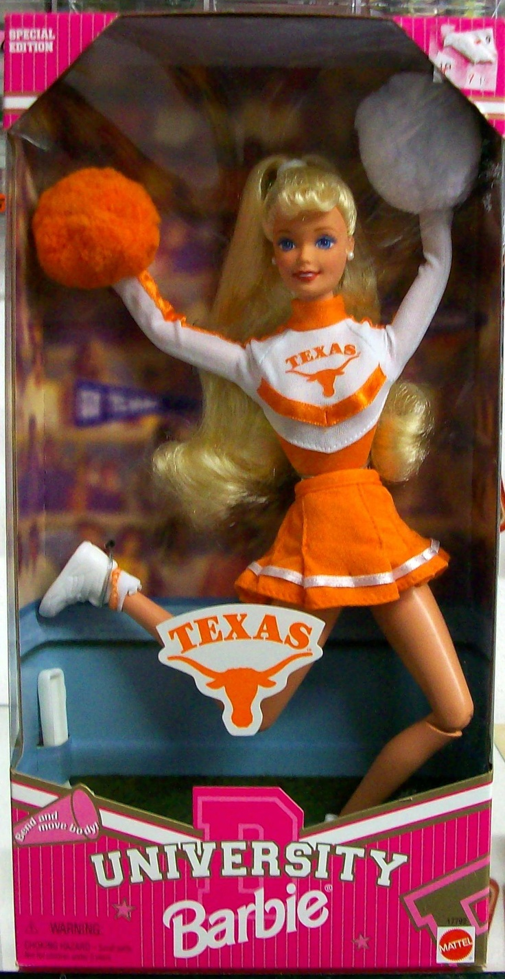 University of Texas Barbie - shd I pin it in Barbie or Texas? both obviously