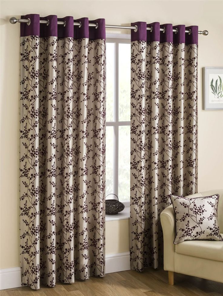 Homescapes Mulberry Beige Luxury Faux Silk Eyelet Ring Top Lined Curtains  Pair Width 90 X 72 Part 35