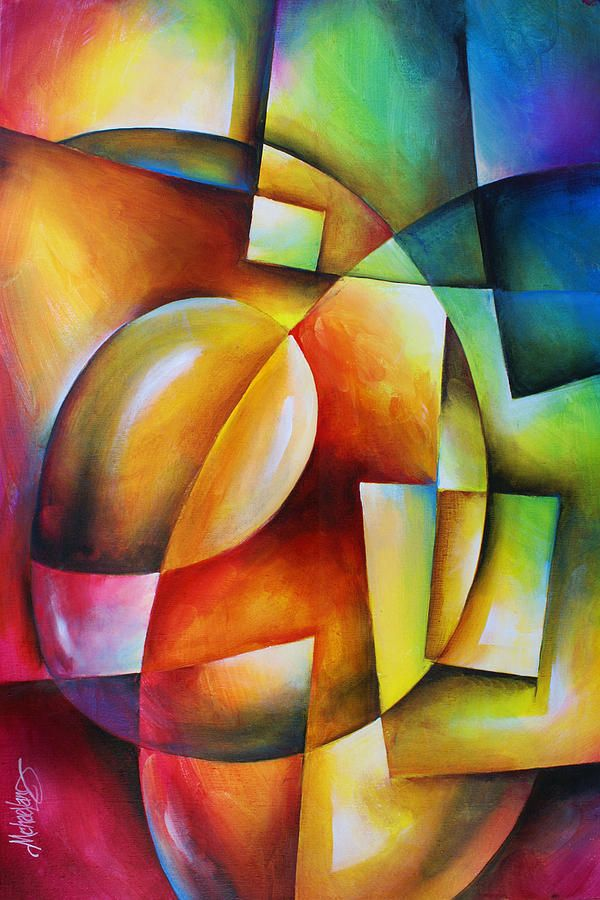 ' Evolution 2 ' Painting by Michael Lang