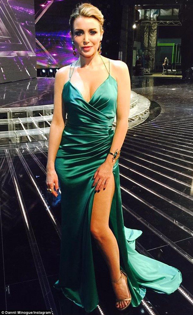 44 Hot to trot! The X Factor Australia judge Dannii Minogue graced TV screens on Monday in a ...