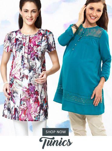 Tunics Maternity Wear for Pregnant Women -Buy Online #pregnancy #maternitywear #offers #40%off #midseasonsale #leggings