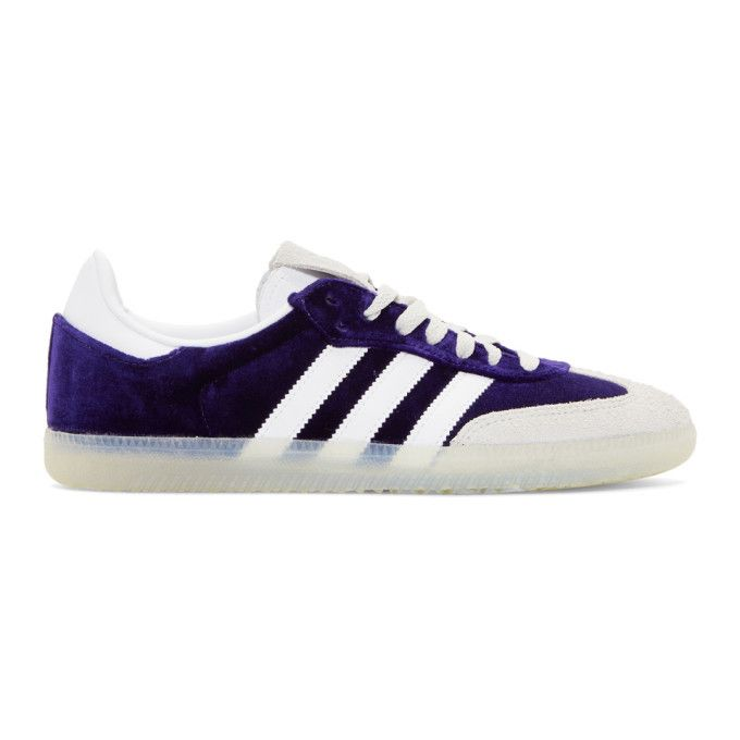 adidas Originals Purple Velvet Samba OG