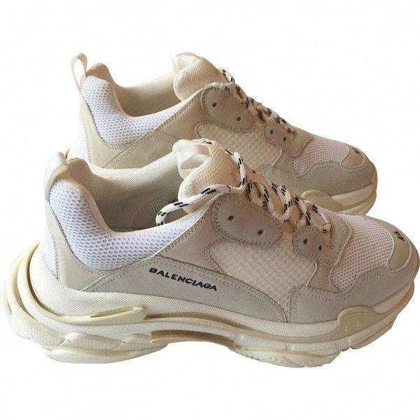 25ba7ef792e3 Triple S leather low trainers BALENCIAGA ( 1