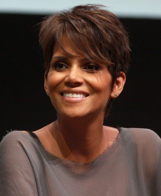 Think you should go short? You could do a lot worse than a stylish short cut like Halle Berry's.