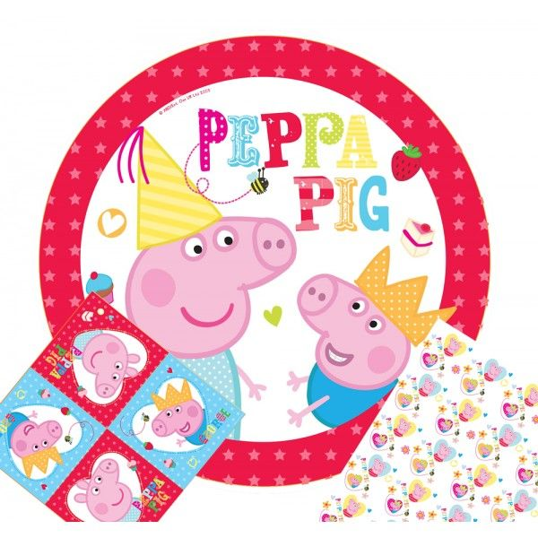 Peppa Pig Party Kit for 8