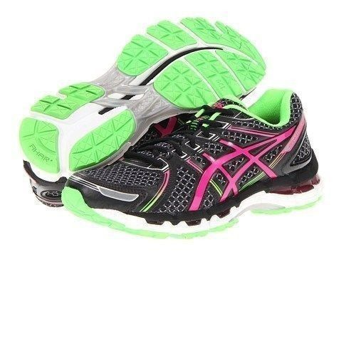 New Asics Gel Kayano 19 GS Running Shoes Black Pink Green Youth 5 Womens 6 5 | eBay