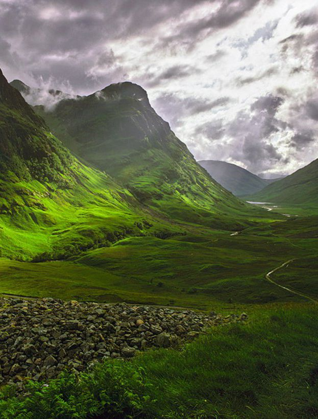 Glencoe, Highland, Scotland We went to the same place I dreamed of. It no longer felt lonely, it felt fulfilling. And though no one but sheep in the pasture were there, His presence made me feel wanted. And that's all I ever wanted.