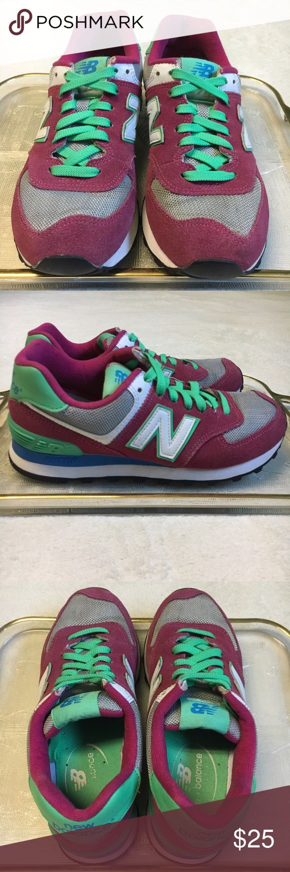 30% Off New Balance 574 New Balance 574 Sneakers Shoes size: 6US, 23cm Bundle 3 or more items and get a 30% discount. Or best offer New Balance Shoes Athletic Shoes