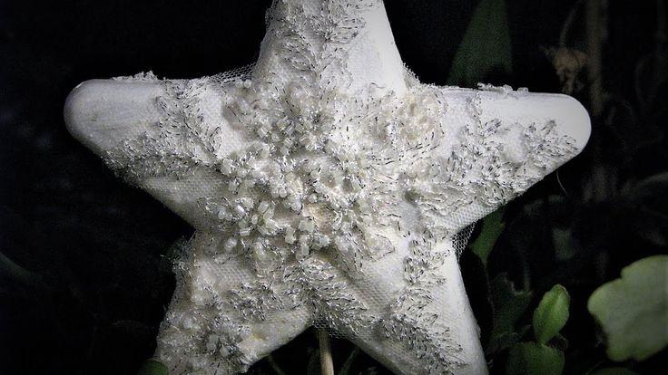 Jak zrobić koronkową gwiazdę - Pomysły plastyczne dla każdego