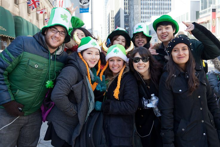 Photographing The 2014 Toronto St. Patrick's Day Parade