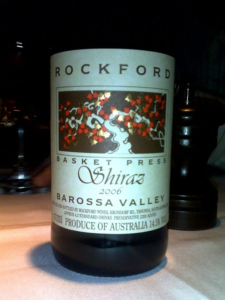 2006 Rockford Basket Press Shiraz