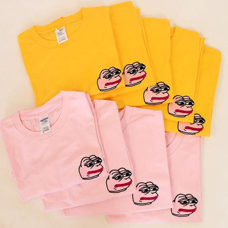 pepe frog t-shirt aesthetic t-shirt