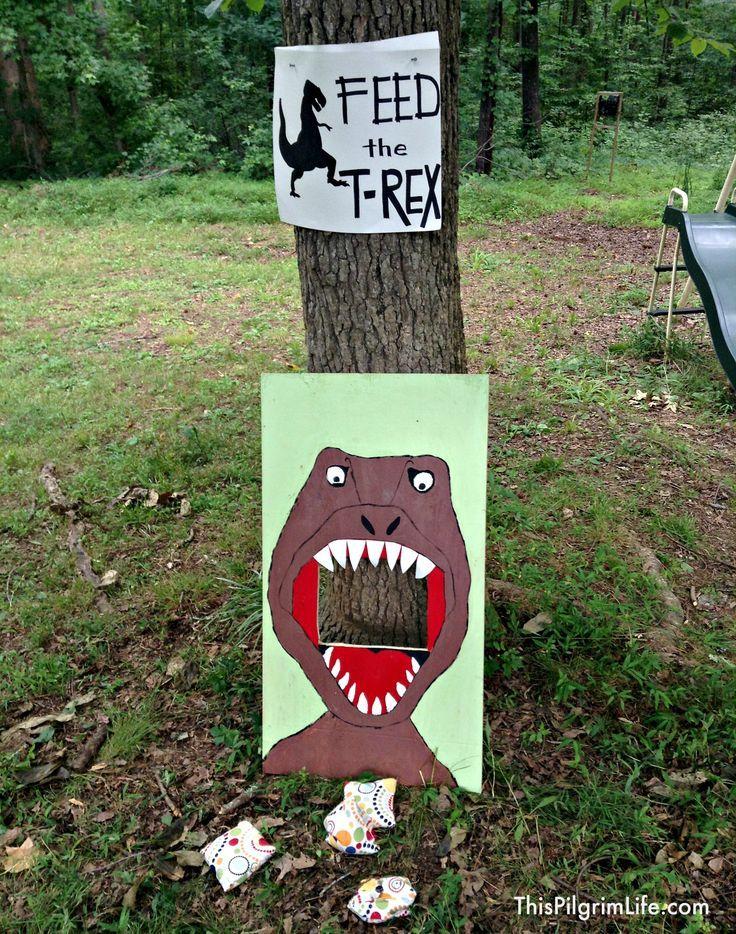 Outdoor Dinosaur Birthday Party