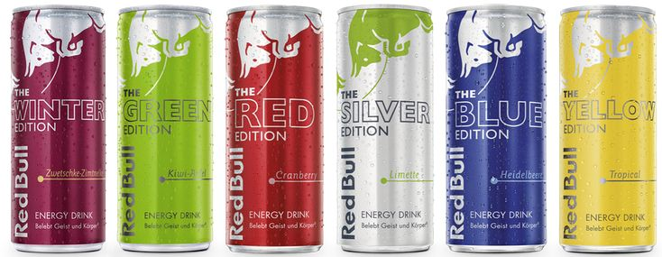 Red Bull Editions :: Energy Drink :: Red Bull Österreich