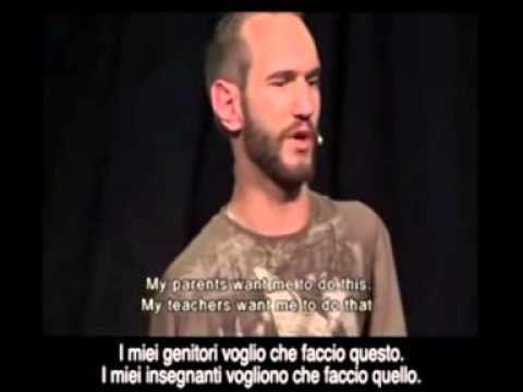 Nick Vujicic - Il coraggio di vivere - YouTube