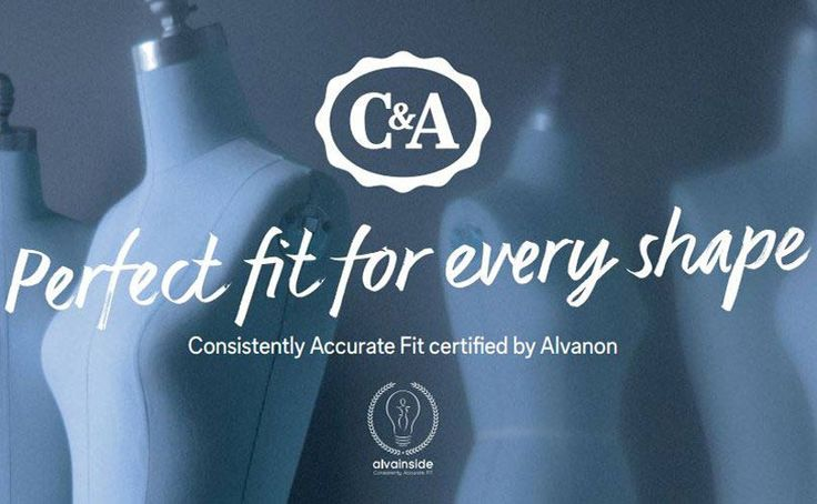 Alvanon, een bedrijf gespecialiseerd in sizing, heeft C&A bekroond met de Alvalnside Certicication, een prijs voor een consistente pasvorm. C&A spant zich volgens Alvanon erg in om kleding in alle maten een uniforme pasvorm te geven.   C&A zal v