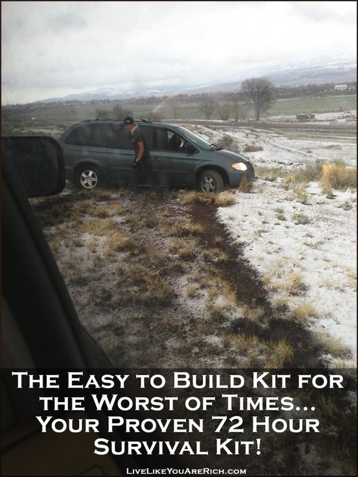 The Easy to Build Kit for the Worst of Times… Your Proven 72 Hour Survival Kit! | Live Like You Are Rich