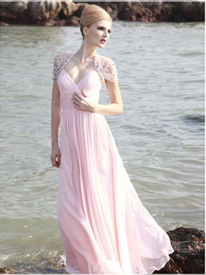 everytide Wholesale Elegant A-line Sweetheart Floor Length Chifffon Evening Dress / Prom Dress 2011 New $145.99