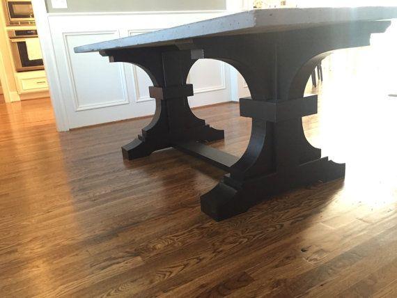 die besten 25+ concrete top dining table ideen auf pinterest, Esszimmer dekoo