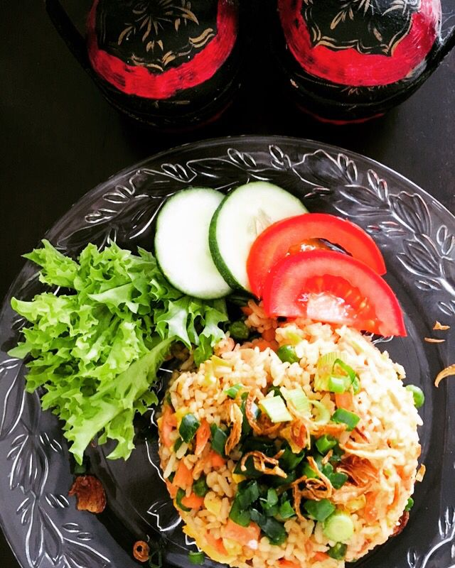 Smoked Salmon And Egg Fried Rice Smoked Salmon And Eggs Ching He Huang Recipes Recipes