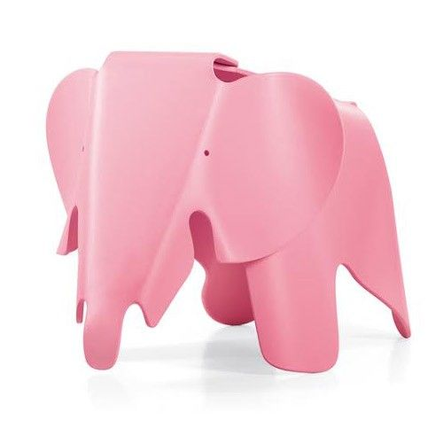 Elephant Stool - Eames Reproduction - Pink