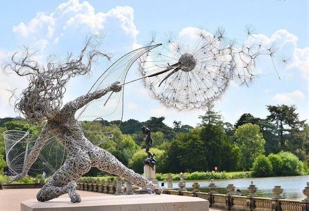 Проволочные скульптуры Robin Wight: alisa_morozova